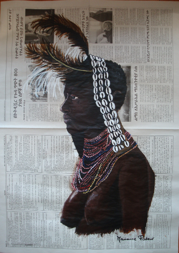 ETHIOPIE - La coiffe
