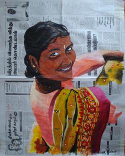 INDE - Le sari