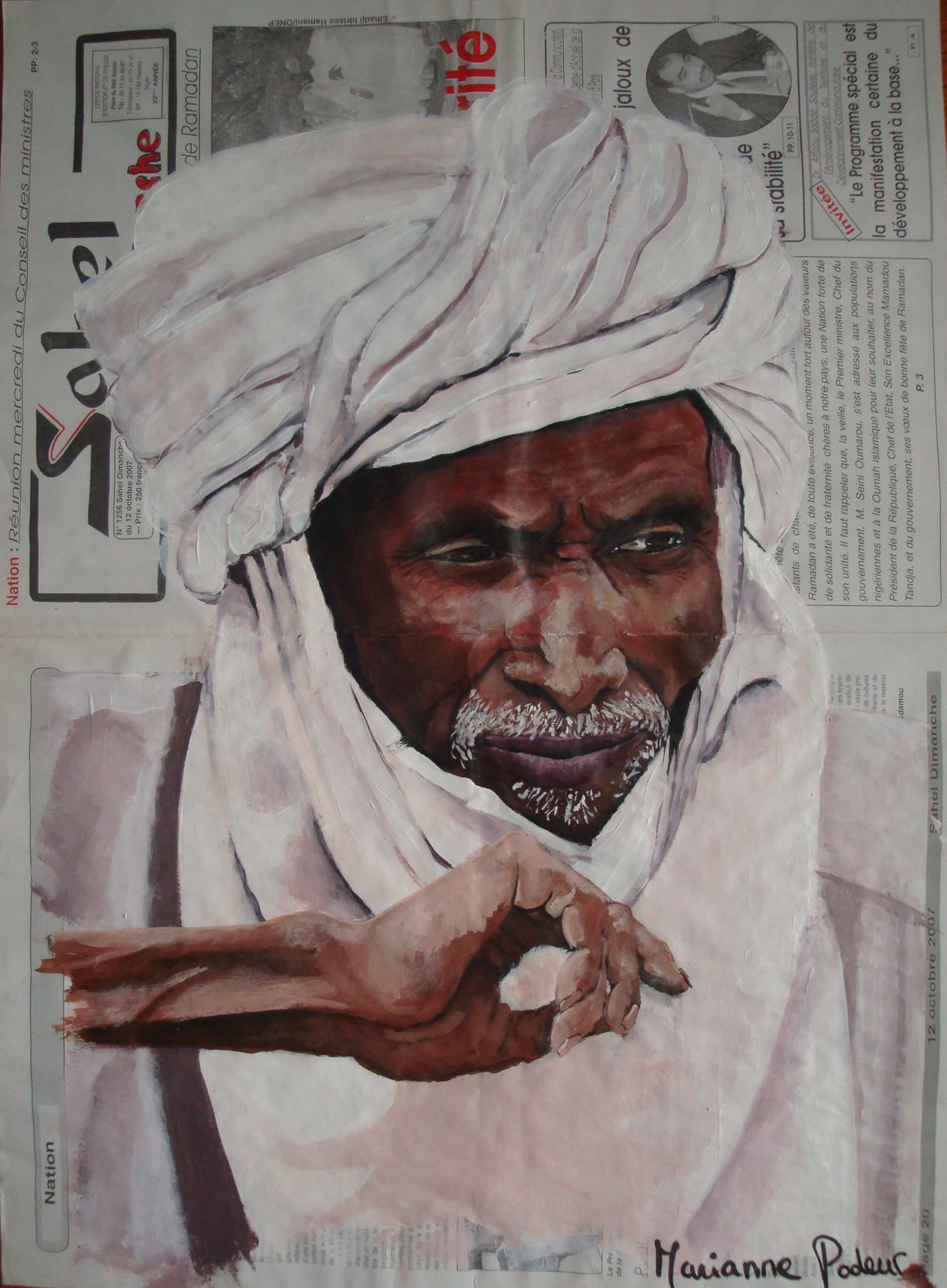 NIGER - L'homme du désert