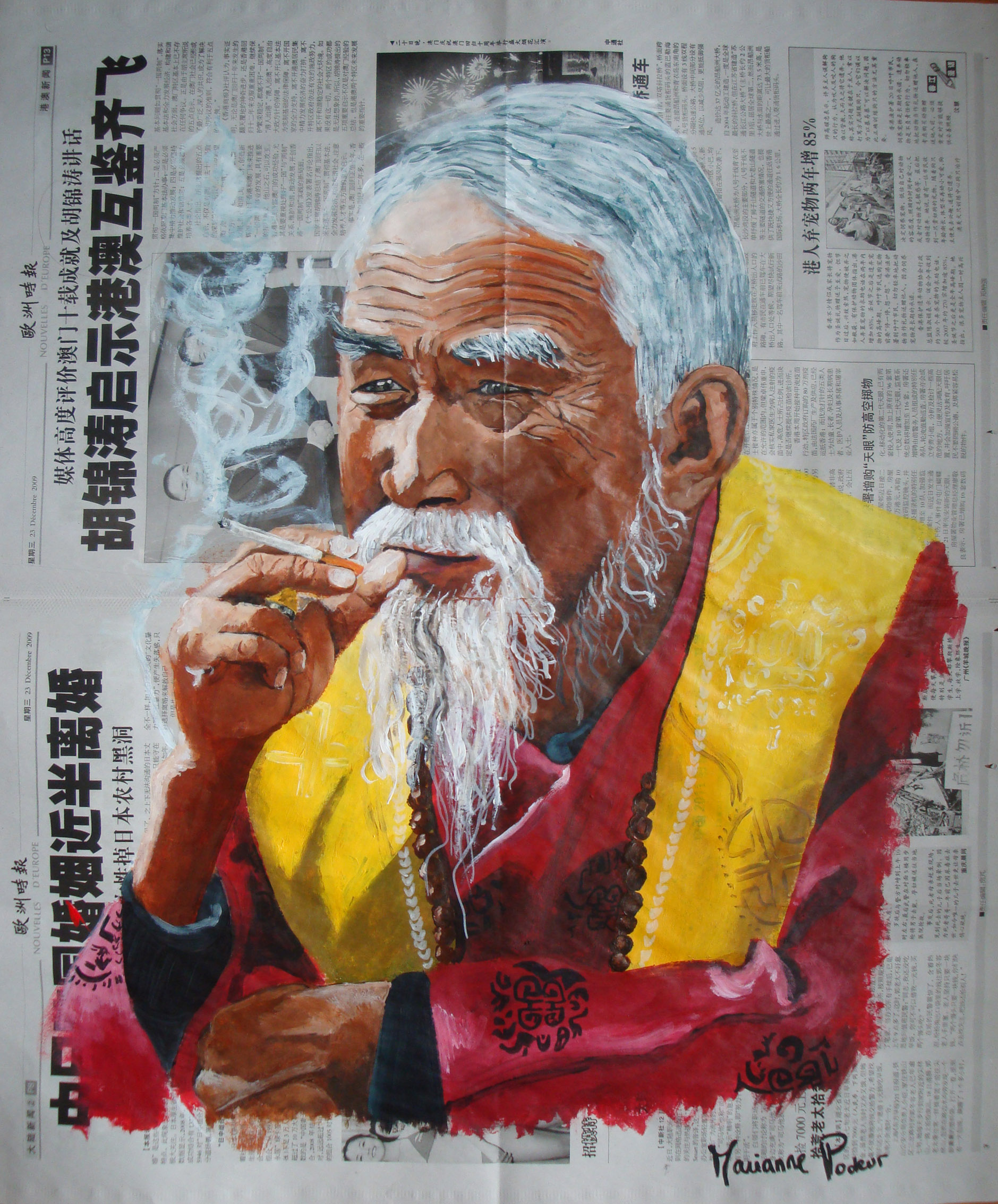 CHINE - In « Tobacco » veritas