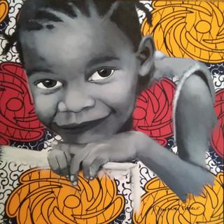 Fillette Brazzaville