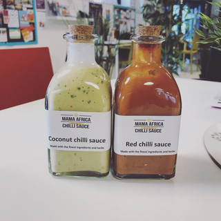 Chilli sauce made by our foundation