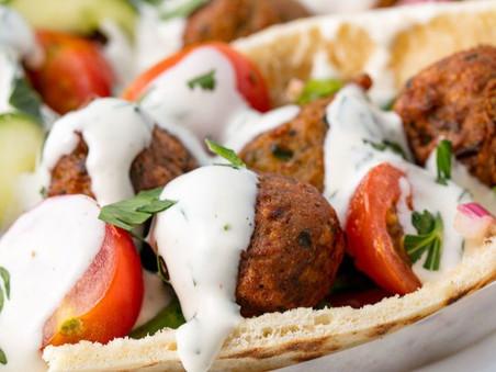 La estrategia de marketing de falafel