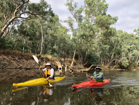 Ovens Odyssey Stage 11 - Crown Block (Lavis') to Bundalong (Murray River)