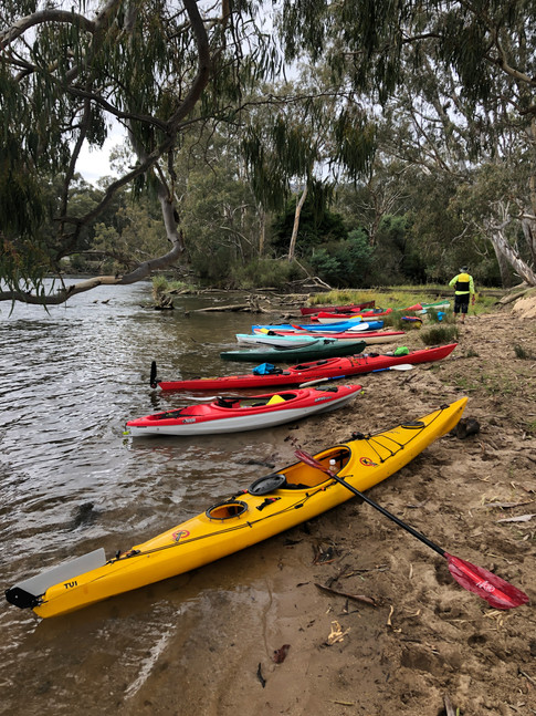 Goulburn River at Dabyminga Ck confluence (lunch)