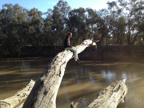 Megs, Campaspe R near Murray confluence, Echuca