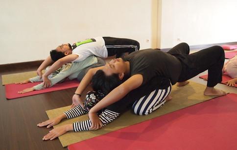 Couple Yoga for Fertility