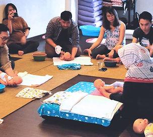 Kelas Pijat Bayi
