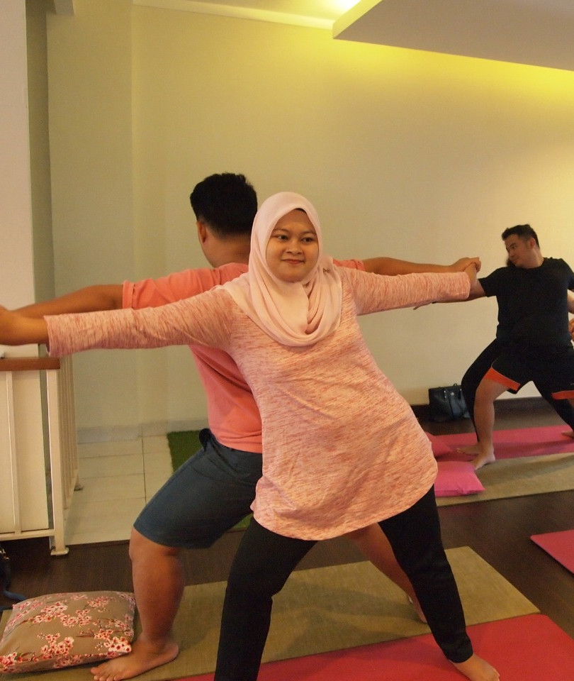 Couple Yoga For Birth