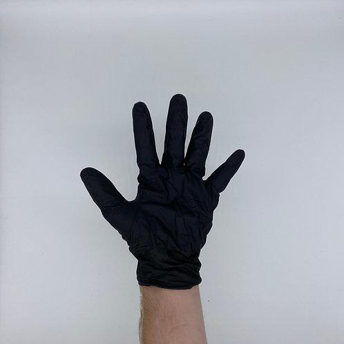Black Nitrile Gloves, Heavy Duty - 3 boxes of 100 gloves