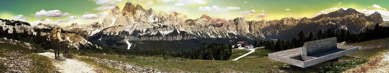 panchina Piana Cortina d'Ampezzo OTTOPANCHE