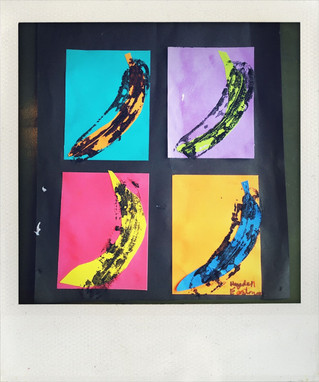 Going Bananas for Warhol