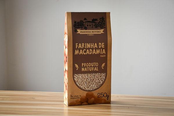 Farinha de Macadamia - Fazenda