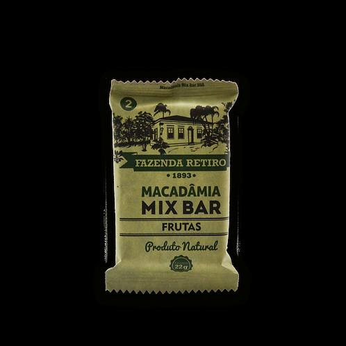 Macadâmia Mix Bar - Cx. 15 Un. - Frutas