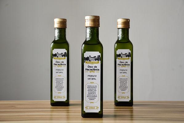 Oleo de Macadamia - Fazenda Retiro