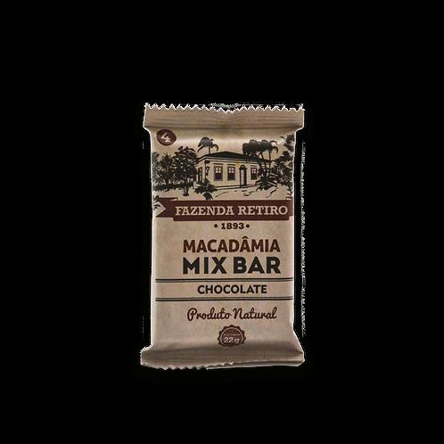 Macadâmia Mix Bar - Cx. 15 Un. - Chocolate
