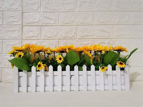 Faux Sunflower Centerpiece