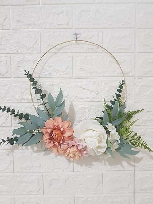 Flower Wreath Design A