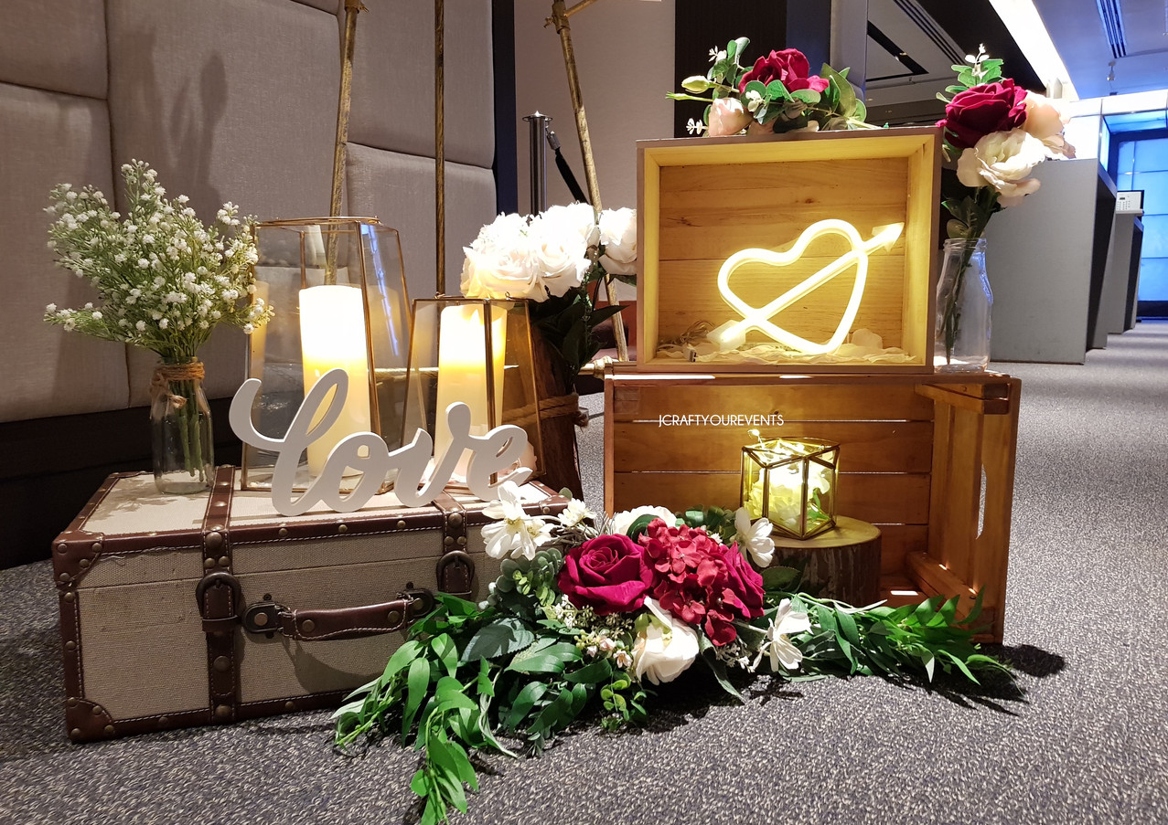 Jcraftyourevents_Welcome Area_Vintage Pa