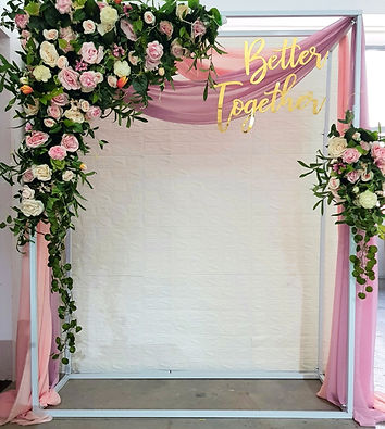 Jcraftyourevents_Wedding Arch