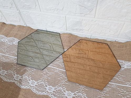 Hexagon Mirror (Total 8 pieces)