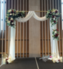 Gold Arch with White Drape.png