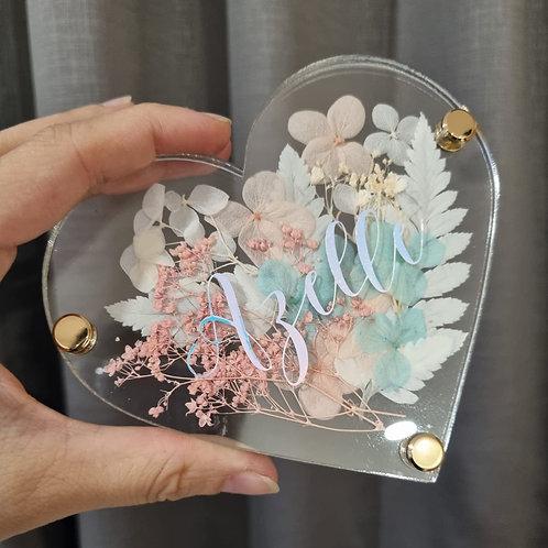 Heart Shaped Coaster (1 piece)