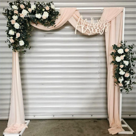 JCRAFTYOUREVENTS_DIY Arch Deluxe Champag