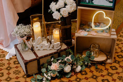 Welcome Area by jcraftyourevents Closeup