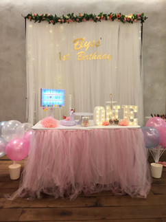 Jcraftyourevents_Its a girl birthday par