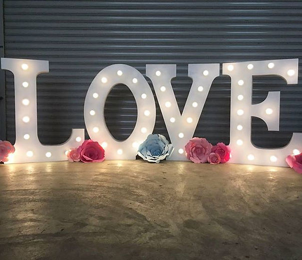 How about adding some lovely lights to your wedding_ Welcoming our Mega LOVE Marquee Lights (1.jpg