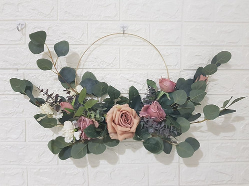 Flower Wreath Design B
