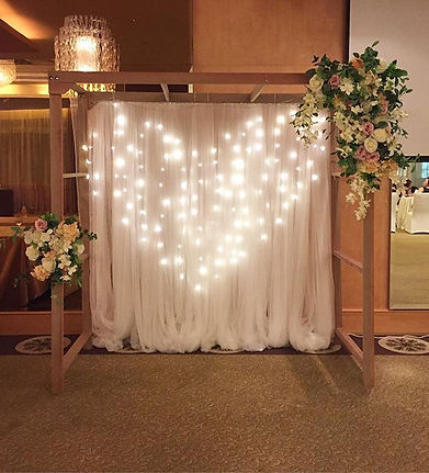 Jcraftyourevents_Wooden Arch
