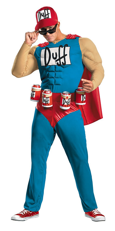 SIMPSONS MUSCLE DUFFMAN COSTUME