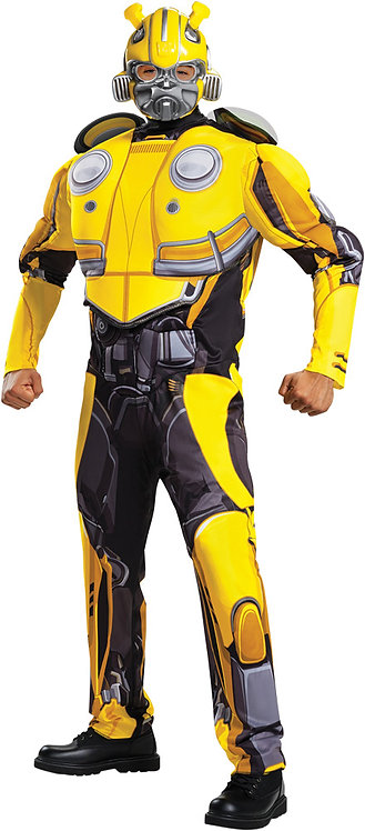 Men's Bumblebee Classic Muscle Costume - Transformers Movie