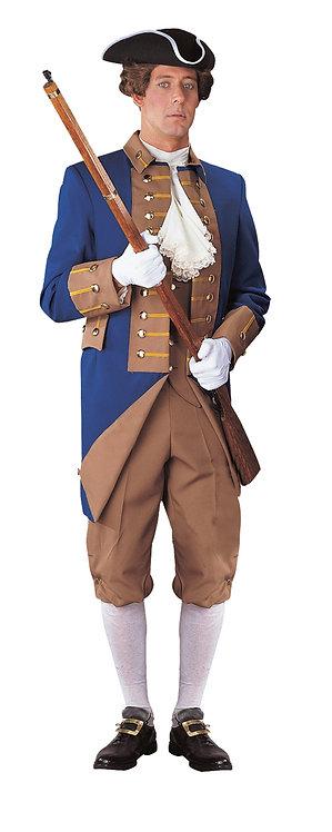 Men's American Revolutionary Officer Uniform