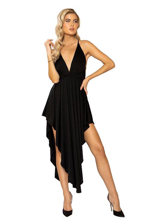 Layered Maxi Length Dress