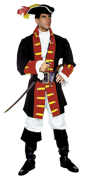 Men's Captain Hook/Prince Costume