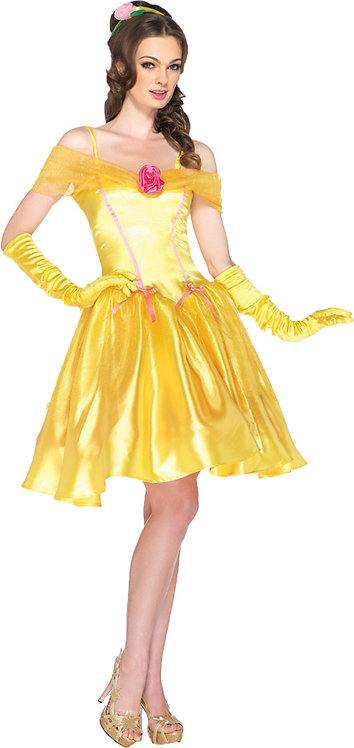 PRINCESS BELLE ADULT YELLOW