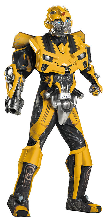 Men's Bumblebee Theatrical/Rental Quality Costume - Transformers Movie 5
