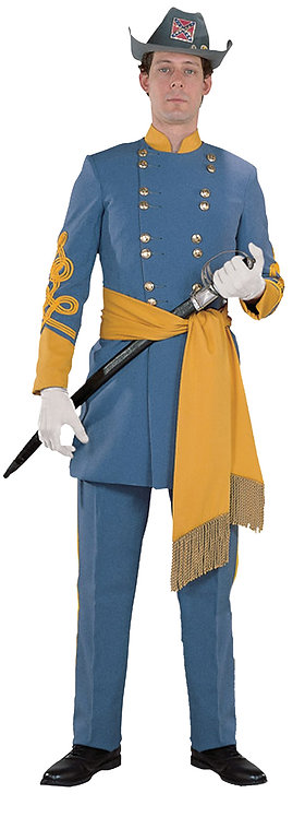 Men's Deluxe Confederate General Costume