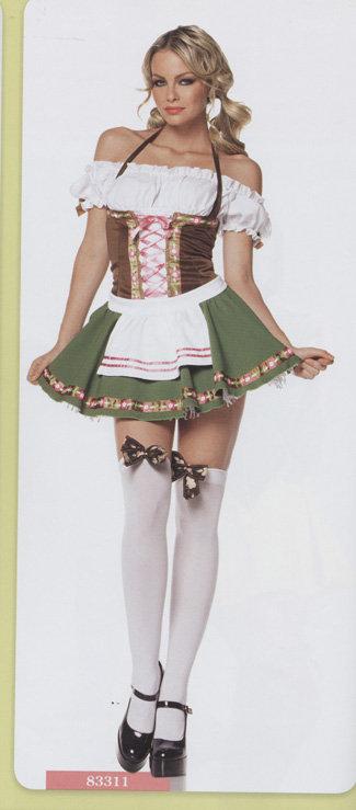 GRETCHEN BEER GARDEN GIRL COSTUME