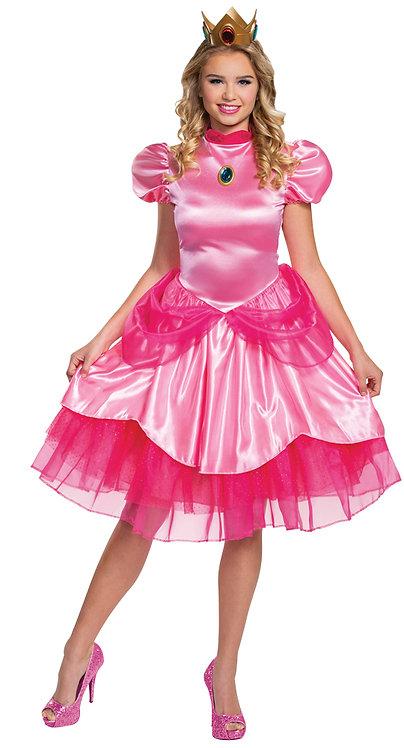 Women's Princess Peach Deluxe Costume