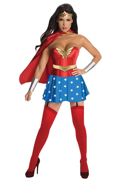 WONDER WOMAN DLX COSTUME