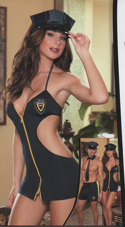 Naughty Hottie Cop