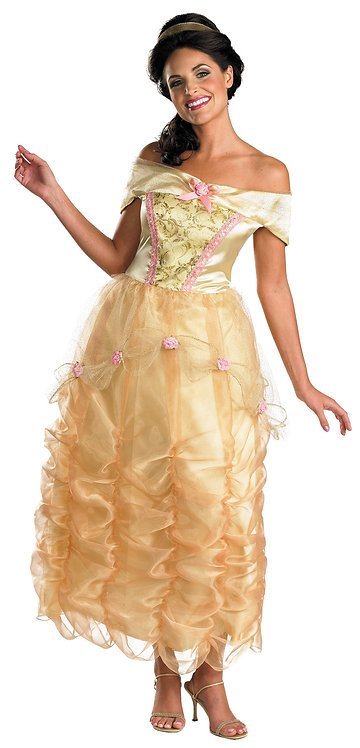 Women's Belle Deluxe Costume - Beauty & The Beast