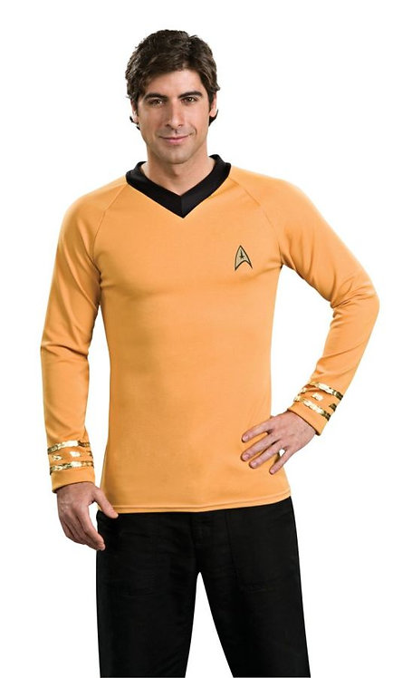 STAR TREK CLASSIC GLD SHIRT COSTUME