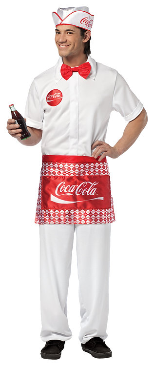 SODA JERK COSTUME