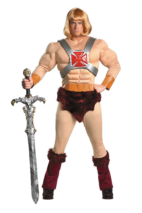 HE-MAN CLASSIC MUSCLE COSTUME