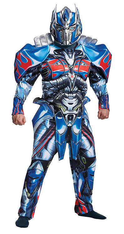 Men's Optimus Prime Deluxe Costume - Transformers Movie 5